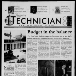 Technician, July 11, 2001