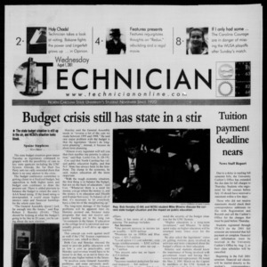 Technician, August 1, 2001