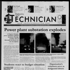 Technician, August 8, 2001