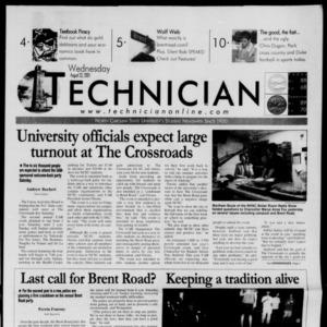 Technician, August 22, 2001