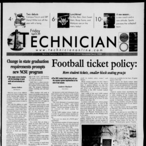 Technician, August 24, 2001