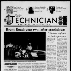 Technician, August 27, 2001