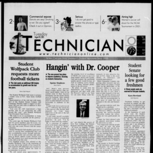 Technician, August 28, 2001