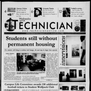Technician, August 29, 2001