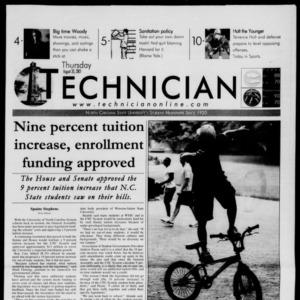 Technician, August 30, 2001