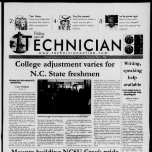 Technician, August 31, 2001