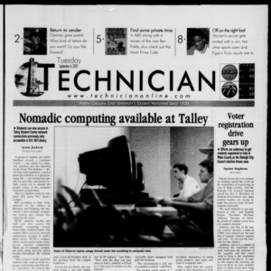 Technician, September 4, 2001