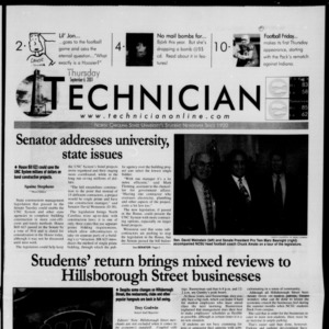 Technician, September 6, 2001