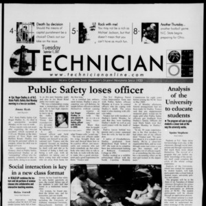 Technician, September 11, 2001