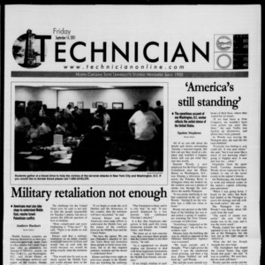 Technician, September 14, 2001