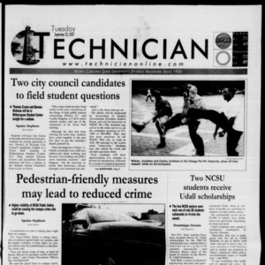 Technician, September 25, 2001