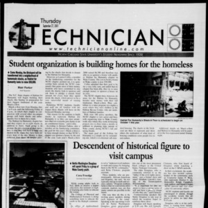Technician, September 27, 2001