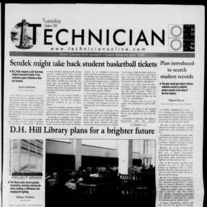 Technician, October 2, 2001