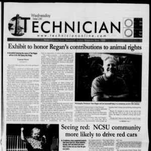 Technician, October 3, 2001