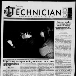 Technician, October 4, 2001