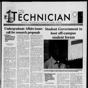 Technician, October 5, 2001
