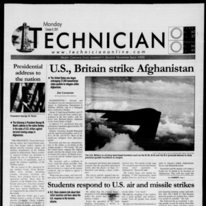 Technician, October 8, 2001