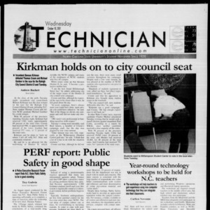 Technician, October 10, 2001