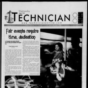 Technician, October 17, 2001