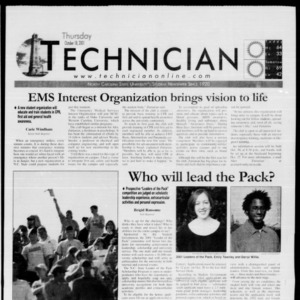 Technician, October 18, 2001