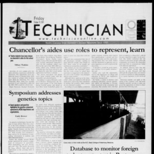 Technician, October 19, 2001
