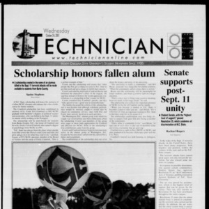 Technician, October 24, 2001