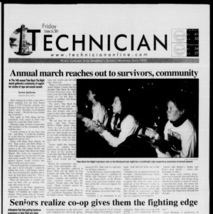 Technician, October 26, 2001