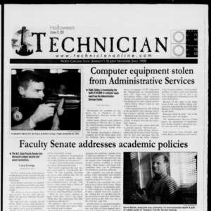 Technician, October 31, 2001