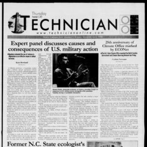 Technician, November 1, 2001
