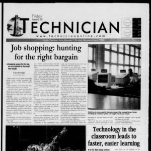 Technician, November 2, 2001