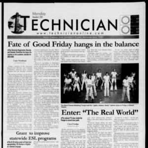 Technician, November 5, 2001
