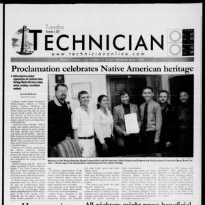 Technician, November 6, 2001