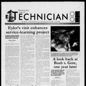 Technician, November 7, 2001