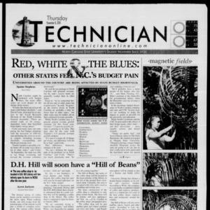 Technician, November 8, 2001