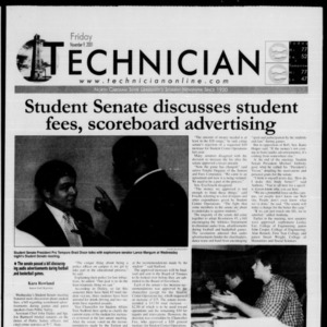 Technician, November 9, 2001