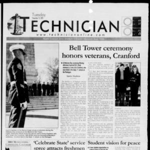 Technician, November 13, 2001