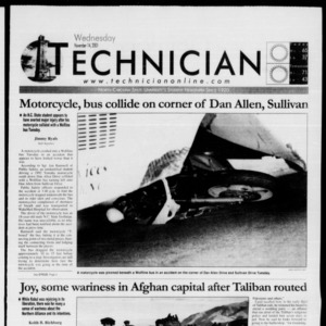 Technician, November 14, 2001