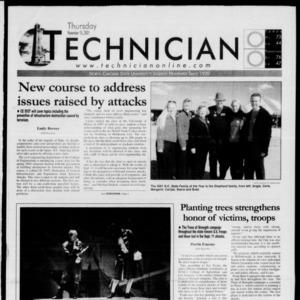 Technician, November 15, 2001