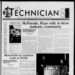 Technician, November 16, 2001