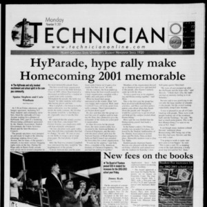 Technician, November 19, 2001