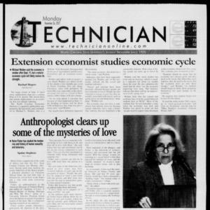 Technician, November 26, 2001