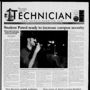Technician, November 29, 2001