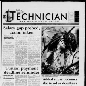 Technician, November 30, 2001