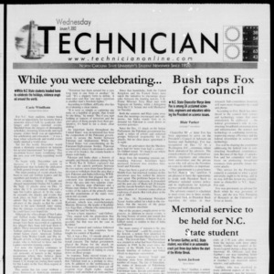 Technician, January 9, 2002