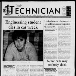 Technician, January 15, 2002