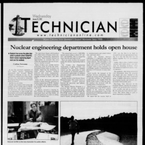 Technician, January 23, 2002