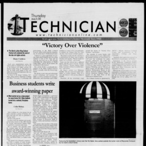 Technician, January 24, 2002