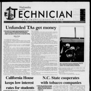 Technician, January 30, 2002