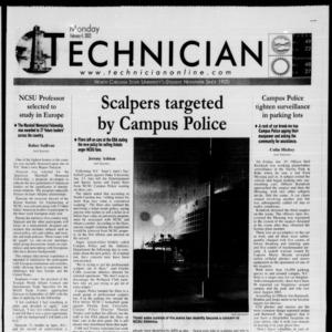 Technician, February 4, 2002