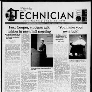 Technician, February 6, 2002